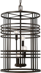 Capital Lighting Foyers 4-Light Foyer Old Bronze 512441OB