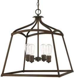 Capital Lighting Foyers 4-Light Foyer  Burnished Bronze 9102BB