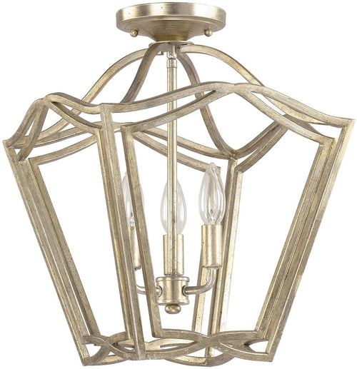 Capital Lighting Foyers 3-Light Foyer  Winter Gold 9651WG