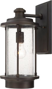 Capital Lighting Grant Park 1-Light Wall Lantern Old Bronze 918111OB