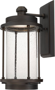 Capital Lighting Grant Park LED Wall Lantern Old Bronze 918121OBLD