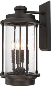 Capital Lighting Grant Park 4-Light Wall Lantern Old Bronze 918141OB