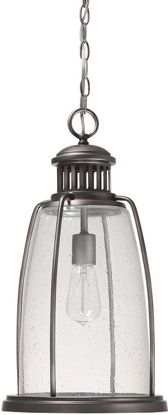 Capital Lighting Harbour 1-Light Outdoor Pendant Light Graphite 9636GR