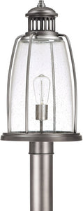 Capital Lighting Harbour 1-Light Outdoor Post Lantern Graphite 9635GR