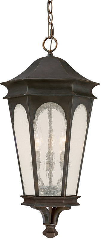 "13""w Inman Park 3-Light Outdoor Old Bronze"