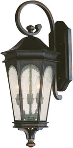 "27""h Inman Park 3-Light Outdoor Old Bronze"