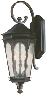 "33""h Inman Park 3-Light Outdoor Old Bronze"