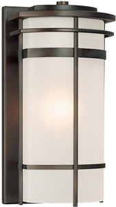 Capital Lighting Lakeshore 1-Light Outdoor Old Bronze 9882OB