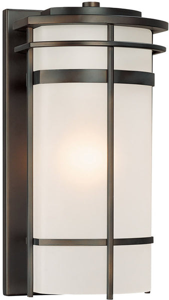 "16""h Lakeshore 1-Light Outdoor Old Bronze"