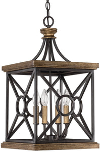 Capital Lighting Landon 4-Light Foyer  Surrey 4501SY