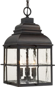Capital Lighting Lanier 3-Light Hanging Lantern Old Bronze 917832OB