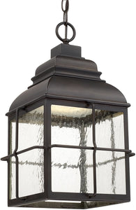 Lanier LED Hanging Lantern Old Bronze