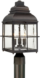 Capital Lighting Lanier 3-Light Post Lantern Old Bronze 917833OB