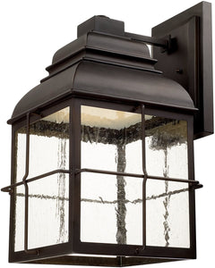 Capital Lighting Lanier LED Wall Lantern Old Bronze 917841OBLD