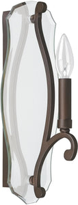 Leigh 1-Light Sconce Burnished Bronze