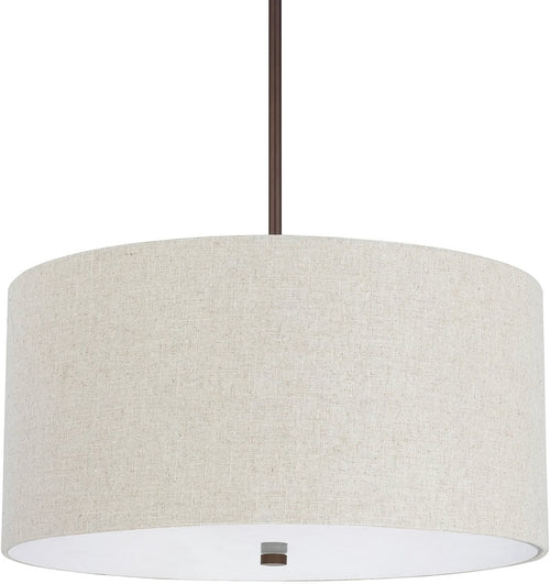 Capital Lighting Loft 4-Light Pendant Burnished Bronze 3922BB613