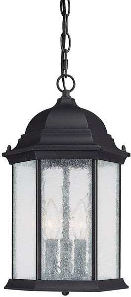 Capital Lighting Main Street 3-Light Outdoor Black 9836BK