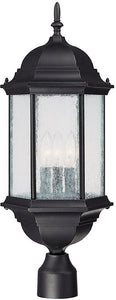 Capital Lighting Main Street 3-Light Outdoor Black 9837BK