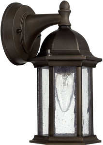 Capital Lighting Main Street 1-Light Wall Lantern Old Bronze 9831OB