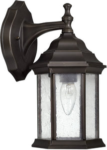 Capital Lighting Main Street 1-Light Wall Lantern Old Bronze 9832OB