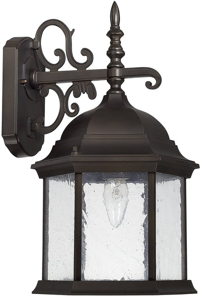 Capital Lighting Main Street 1-Light Wall Lantern Old Bronze 9833OB