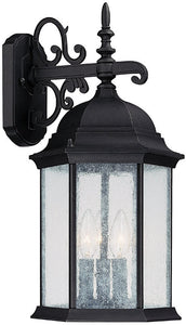 Capital Lighting Main Street 3-Light Outdoor Black 9834BK