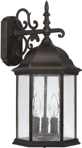 Main Street 3-Light Wall Lantern Old Bronze