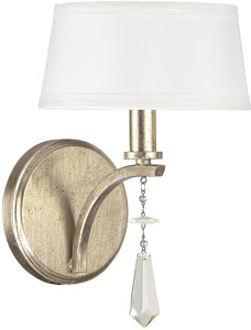 Capital Lighting Margo 1-Light Sconce Winter Gold 4221WG549CR