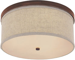 Midtown 3-Light Ceiling Light Burnished Bronze