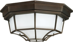 Capital Lighting 2 Lamp Outdoor Ceiling Light Old Bronze 9800OB