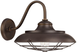 Capital Lighting Outdoor 1-Light Barn Style Outdoor Shade Burnished Bronze 4562BB