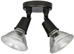 Capital Lighting 2 Lamp Cast Floodlight, Svld-2Ab Bronze Bronze 9502RZ
