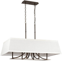 Capital Lighting Parker 6-Light Island Burnished Bronze 4656BB603