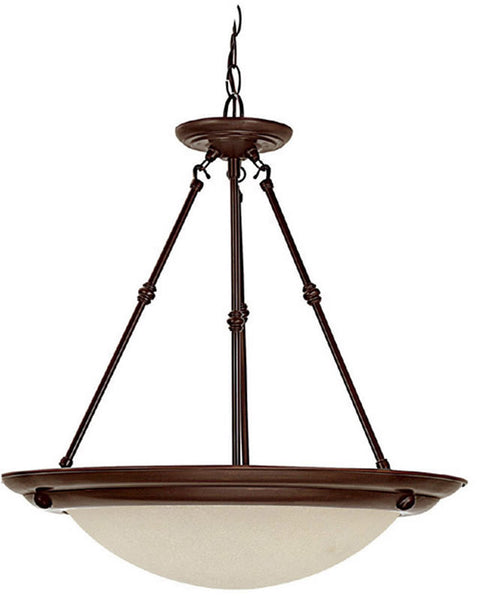 Capital Lighting 3-Light Pendant Burnished Bronze 2720BB