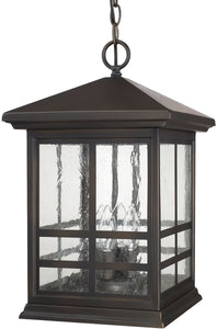 Capital Lighting Preston 4-Light Hanging Lantern Old Bronze 9914OB