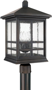 Capital Lighting Preston 4-Light Post Lantern Old Bronze 9915OB