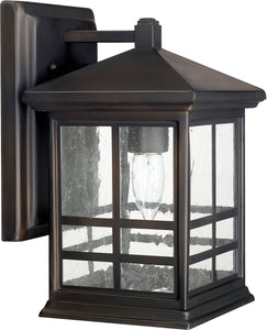 Capital Lighting Preston 1-Light Wall Lantern Old Bronze 9911OB