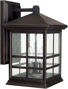 Preston 3-Light Wall Lantern Old Bronze