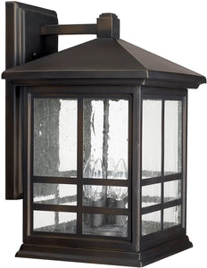Preston 4-Light Wall Lantern Old Bronze
