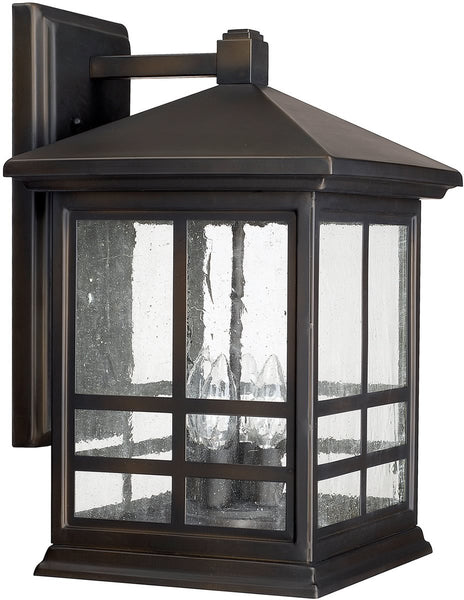 Capital Lighting Preston 4-Light Wall Lantern Old Bronze 9913OB