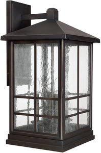 Capital Lighting Preston 4-Light Wall Lantern Old Bronze 9918OB