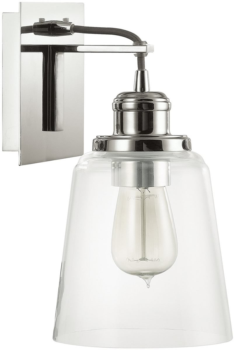 sconce foundrylighting hudson nickel wall product polished valley yorktown in light com pn