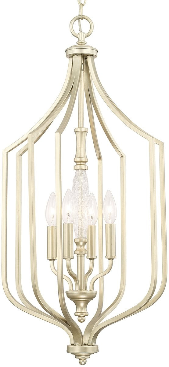 Seaton 4-Light Foyer Soft Gold