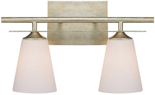 Capital Lighting Soho 2-Light Vanity Winter Gold 1737WG122