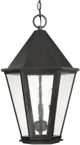 Capital Lighting Spencer 3-Light Outdoor Hanging Lantern Old Bronze 9624OB