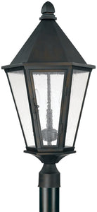 Spencer 3-Light Outdoor Post Lantern Old Bronze
