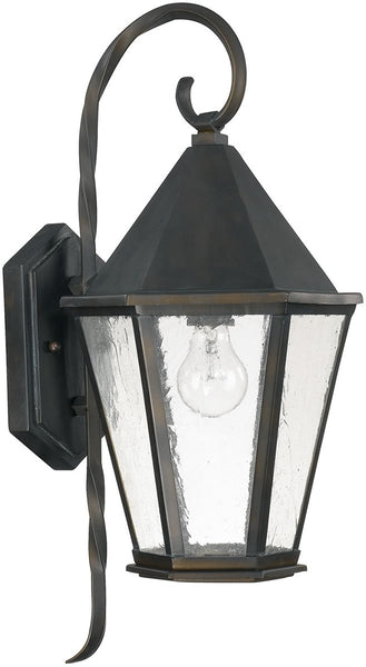 Capital Lighting Spencer 2-Light Outdoor Wall Lantern Old Bronze 9621OB