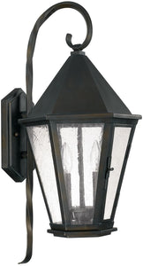 Capital Lighting Spencer 2-Light Outdoor Wall Lantern Old Bronze 9622OB