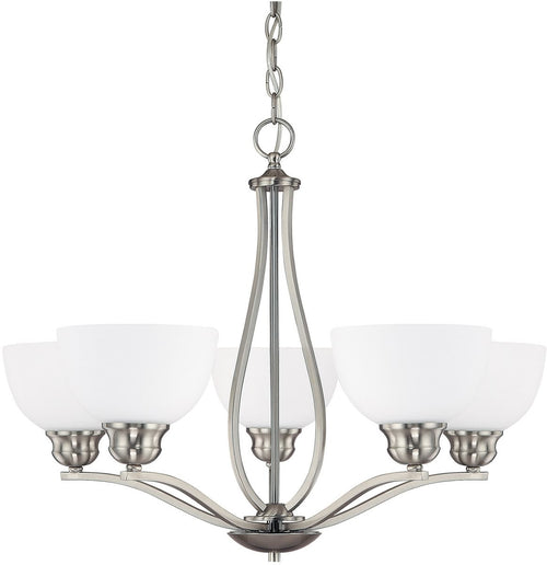 Capital Lighting Stanton 5-Light Chandelier Brushed Nickel 4035BN212