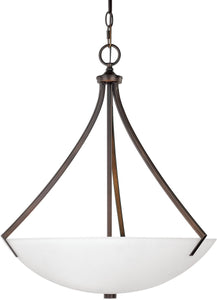 Capital Lighting Stanton 3-Light Pendant Burnished Bronze 4038BBSW